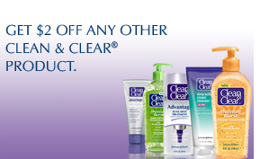 GET $2 OFF ANY OTHER CLEAN & CLEAR® PRODUCT.
